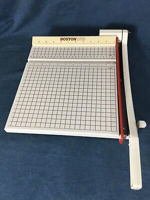 Boston 2612 Paper Photo Cutter Solid Stable Cutting Board