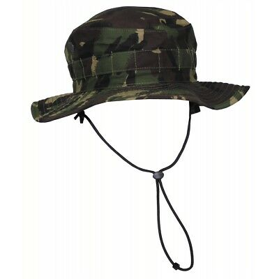 4e447c59065 British UK Army Boonie Bush Hat Combat Tropical DPM camouflage cap Tarn  Size 58