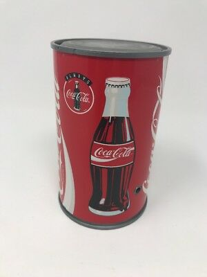 1997 Coca Cola TALKING CAN SAVINGS BANK Motion Activated