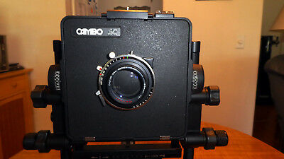 Cambo 4x5 Professional View Camera w/ Caltar Pro Series 210mm Lens/Copal Shutter
