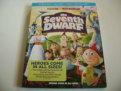 The Seventh Dwarf (3D Blu-ray / DVD / Digital, 2015, 2-Disc Set, New & Sealed)