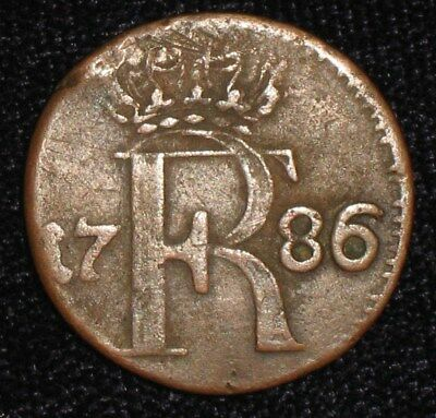 1786, 1/24 Thaler from Prussia, Germany.  No Reserve!