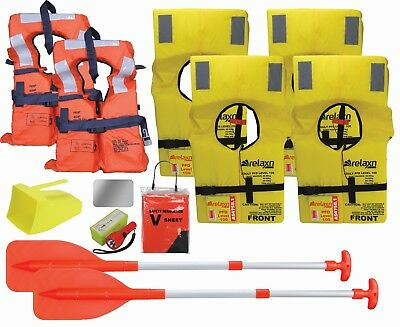 Boating Safety Equipment Boat Safety Kit Marine Safety Gear Kit PFD 1