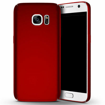 For Samsung Galaxy S7 S7 Edge Luxury Ultra Thin Slim Matte Hard Back Case Cover