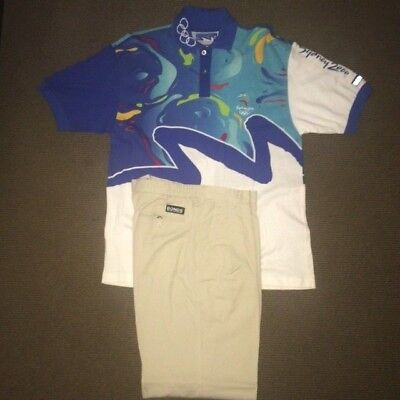 Sydney 2000 Olympic Games Staff Uniform Polo Shirt & Pants