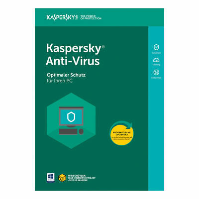 Kaspersky Antivirus Security 2020 1PC, 3PC, 5PC Geräte ( 1Jahr ) upgrade 2019