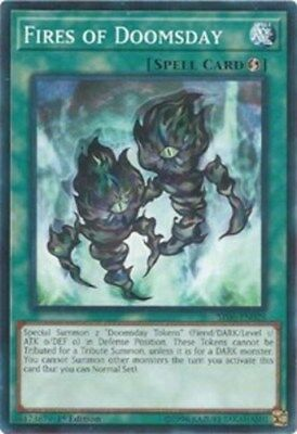 Yugioh! Fires of Doomsday - SR06-EN028 - Common - 1st Edition Near Mint, English