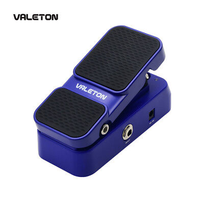 Valeton Footswitch Active Volume Combines Wah Mods Guitar Effects Pedal