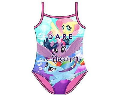 My Little Pony Kids Swim Suit Swimming Costume New Girls Pink Ages 2