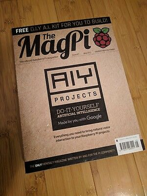 The magpi issue 57 aiy projects diy ai kit for raspberry pi by the magpi issue 57 aiy projects diy ai kit for raspberry pi by google solutioingenieria Choice Image