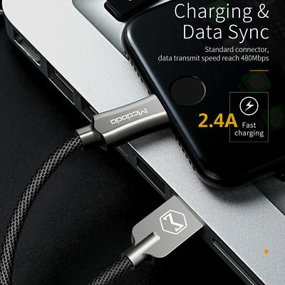 Lightning Cable Cord USB Charger Charging For OEM i Phone X/8/7/6/5 Plus