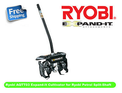 Ryobi AQTT03 Expand-It Cultivator for Ryobi Petrol Split-Shaft Products