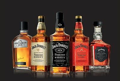 Jack Daniels Whiskey drinks bar High Quality wall Art poster Choose your Size