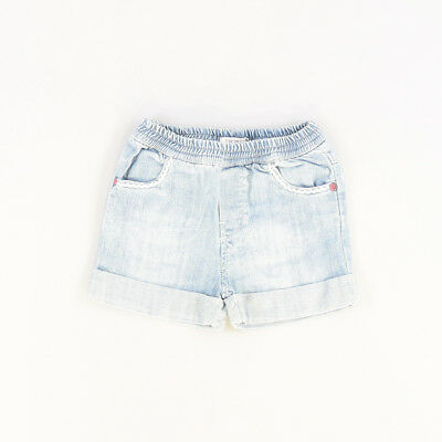 Shorts color Denim claro marca IKKS 6 Meses  505514