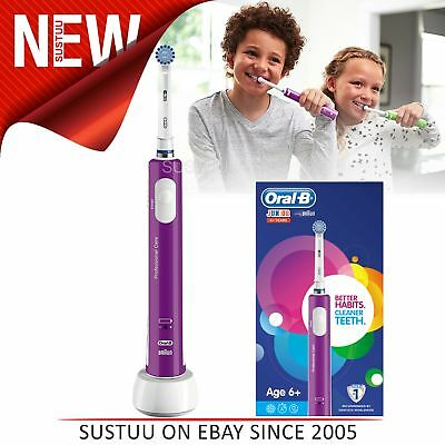 Oral-B Junior Electric Rechargeable Toothbrush│Children's Dental Care│6+Age│NEW