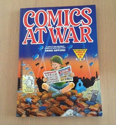 Comics At War by Denis Gifford Very Good +condition Excellent