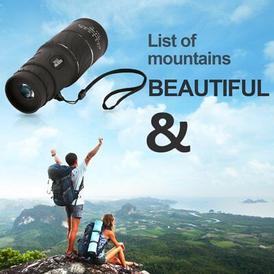 30x52 Dual Focus HD Optical Monocular Day & Night Vision Hunting Telescope NC