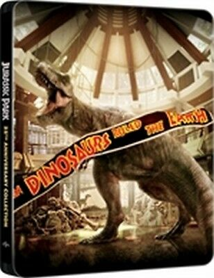 Jurassic Park Collection (4 Blu-Ray Disc - SteelBook)