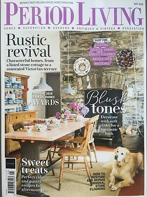 Period Living Magazine May 5/2018 Rustic Revival Characterful Home Current Issue