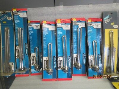 CamcoUSA Water Heater Elements-NEW LOT of 15-See Enlarged Picture for Numbers