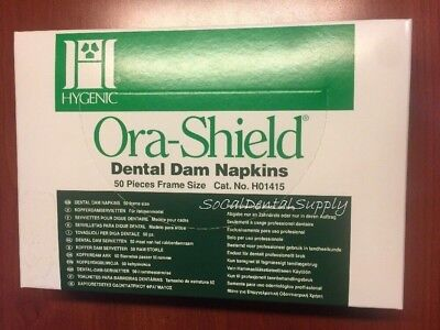 Coltene Ora-Shield Dental Dam Napkins  50 pieces
