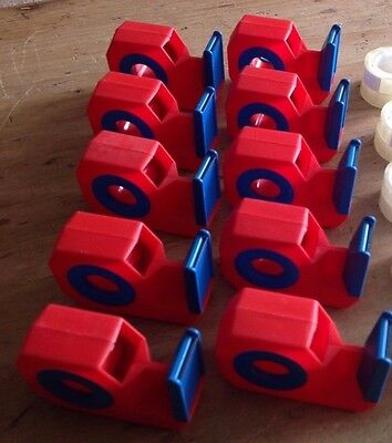 4 x Tesafilm MINI (18mm Tape)  Sellotape /Tape Dispensers / Holders