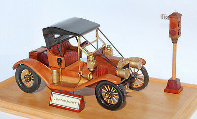 Woodworking plan to make a 1910 Model T Ford.  A plan, not a kit