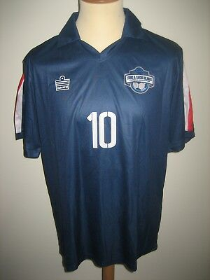 Turks and Caicos NUMBER 10 football shirt soccer jersey camiseta maillot size L