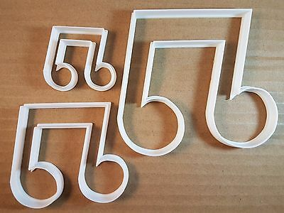 Music Note Bar Rhythm Shape Cookie Cutter Dough Biscuit Pastry Fondant Sharp