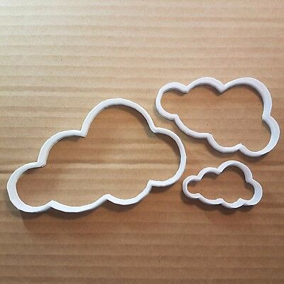 Cloud Sky Weather Shape Cookie Cutter Dough Biscuit Pastry Fondant Sharp