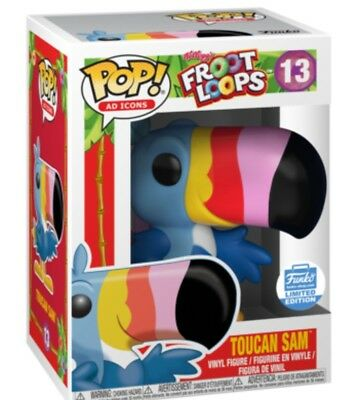 Very limited exclusive Funki POP Ad Icons: Toucan Sam