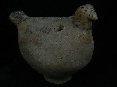 Ancient Large Size Teracotta Painted Bird Indus Valley 2000 BC No Reserv #SG2317