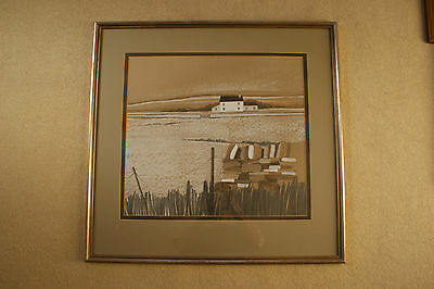 Mike Haworth Painting Signed & Framed Original