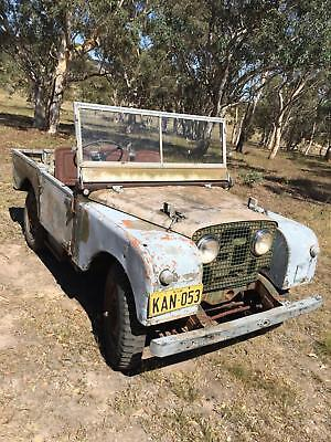 Land Rover Series 1 80 inch with Fully Working Rear PTO