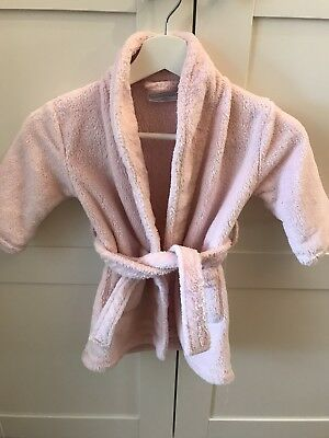 The Little White Company Girls Dressing Gown 18-24 Months