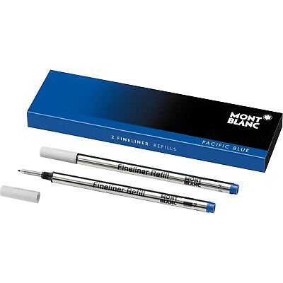 Montblanc (B) Fineliner Pacific Blue Refills 105171 | NEW