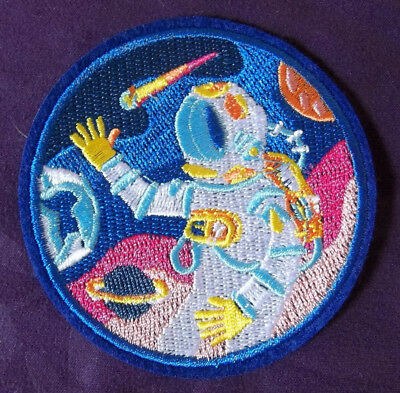 Astronaut Patch Space Shuttle Nasa  Cosplay Planets Solar System Diy Sew/ Iron