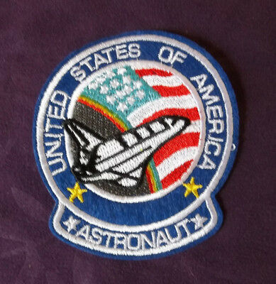 Space Shuttle Patch  Nasa Astronaut Usa Cosplay Planets Solar System Diy