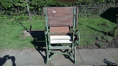Cast Iron Mangle in working condition