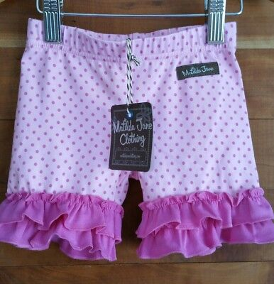 Matilda Jane Adventure Begins Capture The Flag Shorties Sz 2 NWT