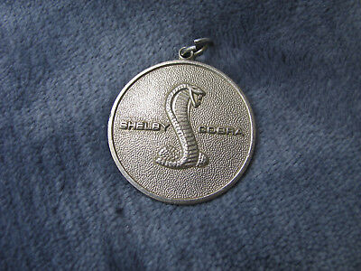 Ford Shelby Cobra Mustang Key Chain. 1960s ORIGINAL EXCEPTIONALLY NICE. NR!