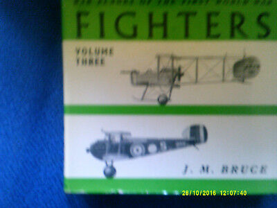 Fighters of the WW I, by J.M.Bruce, Volume Three, Great Britain, Gebraucht