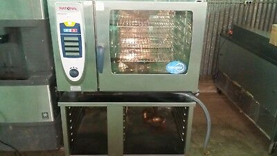 Rational Combi Oven Scc-62 208V 3Ph Convection Oven