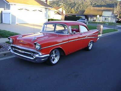 1957 Chevrolet Bel Air/150/210  1957 Chevy 210 post