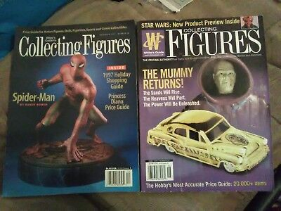 MAGAZINE & BOOK LOT White's Guide Collecting Toy Action Figures Marvel Star Wars