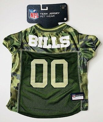 save off f87bf 9545b NEW NFL TEAM Jersey Pet Wear Pittsburgh Steelers Green Camo ...