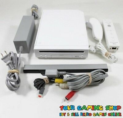 Nintendo Wii Console System Genuine Controller ** VERY GOOD CLEANED TESTED **