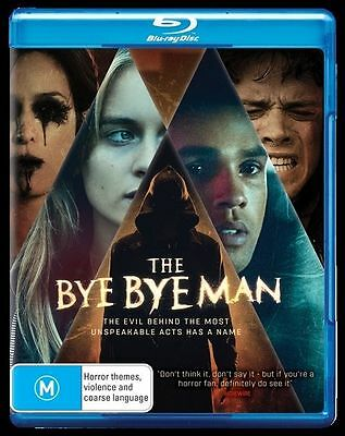 Bye Bye Man Blu-Ray, New & Sealed, 2017 Release, Region B, Free Post