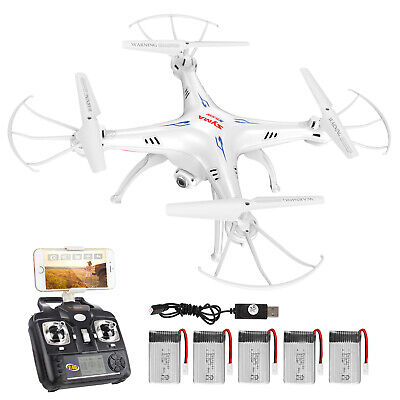 SYMA X5SW RC Drone With Wifi Camera 6Axis Quadcopter FPV Transmission Helicopter