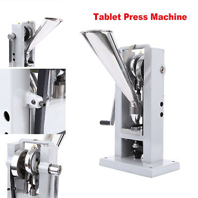 Manual Type Single Punch Tablet Press Making Machine Handle Punch Maker TDP-0